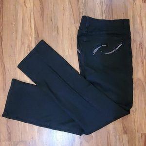 NYDJ Sz8 Black Stretch Jeans